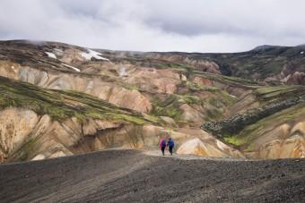Trek à Landmannalaugar