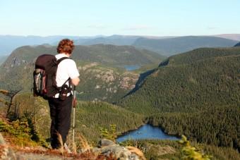 Randonnée dans les Monts Chic-Chocs