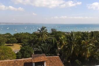 La baie de Msasani depuis Masaki - Dar es Salaam