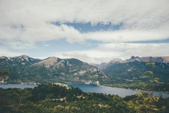 Parc national Nahuel Huapi Vue du lac Nahuel Huapi