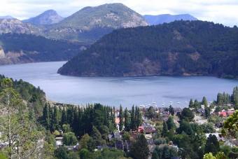 San Martin de los Andes et le Lago Lácar.