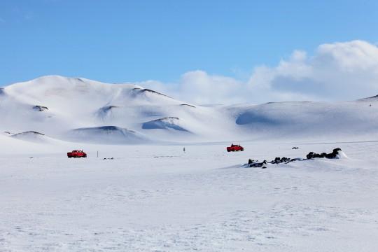 A travers le Fjallabak en hiver