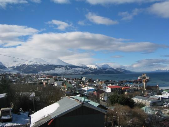 Ushuaïa au printemps