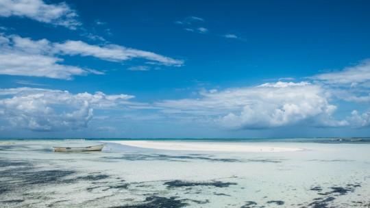Le village de Pingwe à l'est de Zanzibar