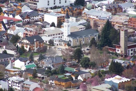Le centre ville de San Martin de Los Andes