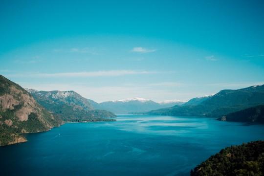 Vuer depuis la Route des sept Lacs près de San Martin de los Andes