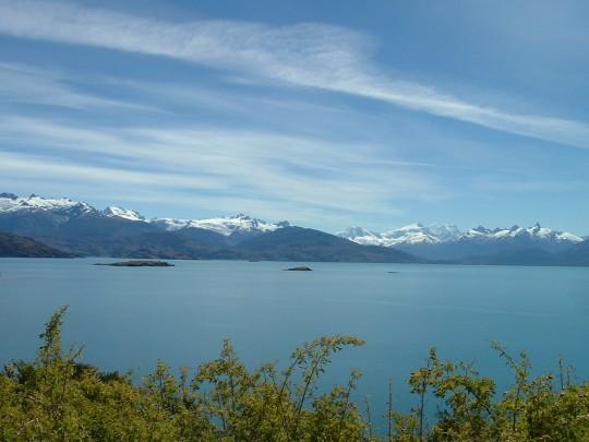 Le lac du Général Carrera
