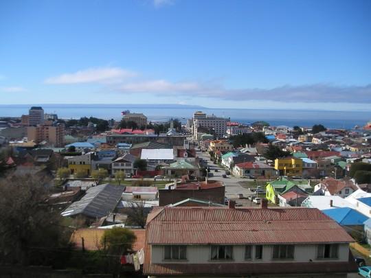 La ville de Punta Arenas