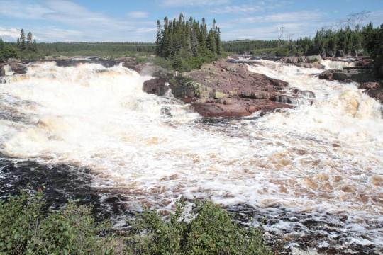 Le Parc de la rivière aux rochers et ses chutes d'eau